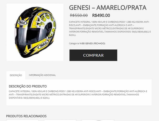 Como adicionar produto Site Pré Pago E-commerce