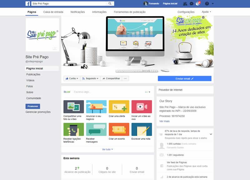 já tenho Facebook, preciso de um site? Criação de site Mooca